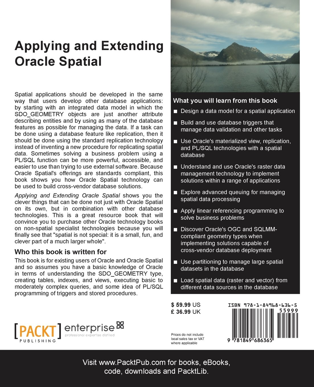 Applying and Extending Oracle Spatial: Simon Greener, Siva