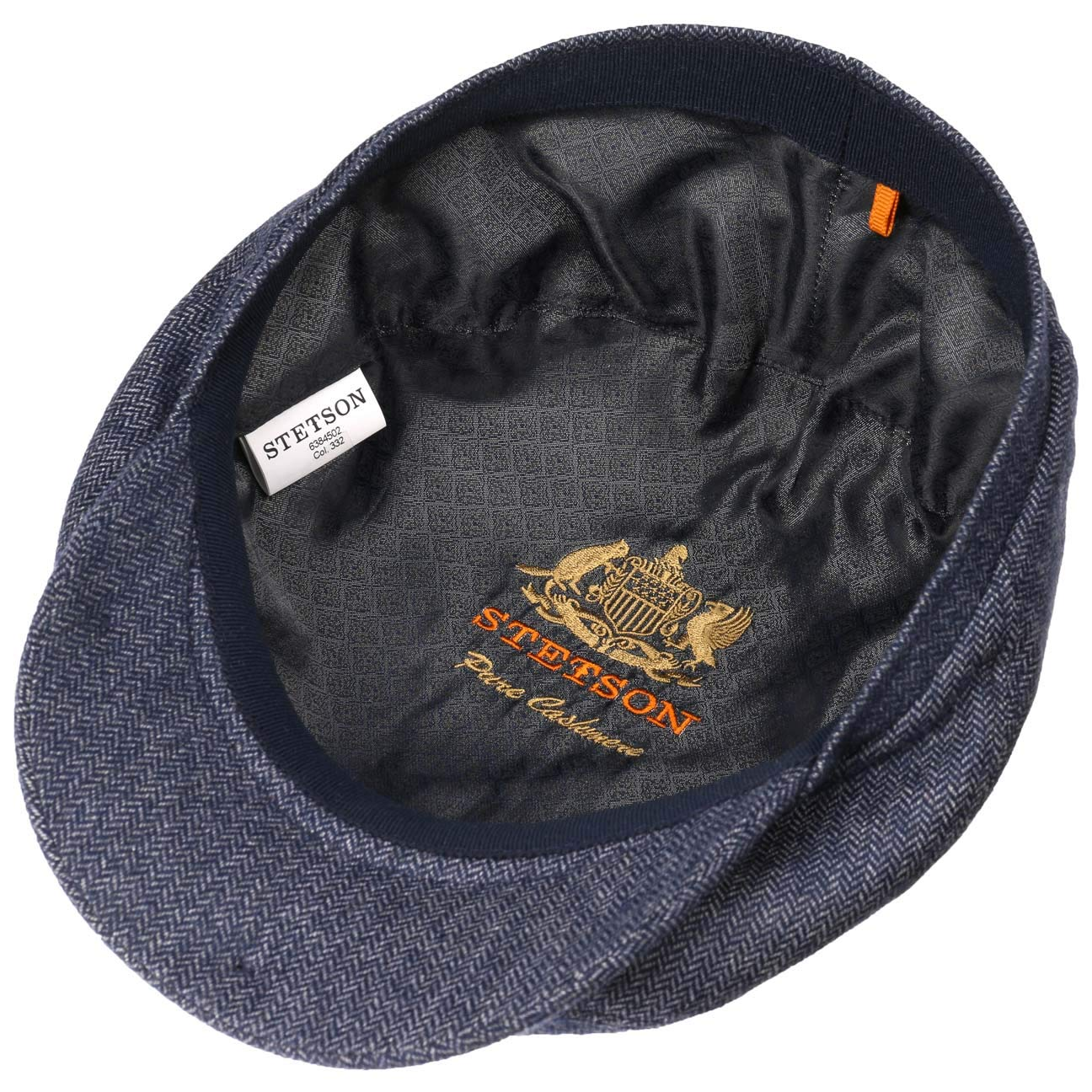 Stetson Belfast Cashmere Flat Cap Men | Made in Germany at Amazon Mens Clothing store: