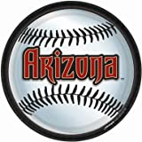 Arizona Diamondbacks - Round Dinner Plates Party Accessory