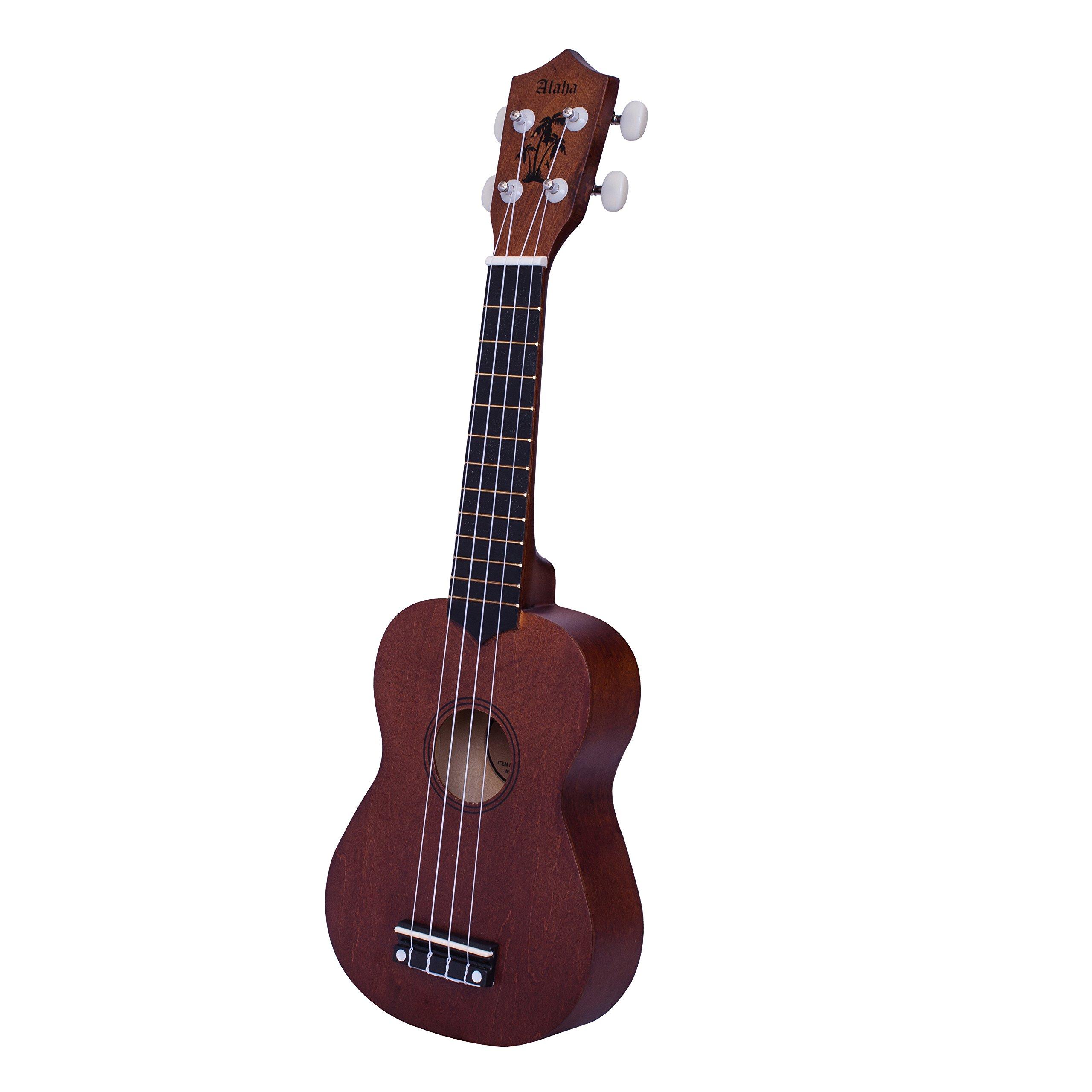 Ukulele soprano ukulele kids ukulele bundle starter guitar kid ukulele with extra new nylon strings uku strap ukulele case ukulele picks satin basswood ukulele