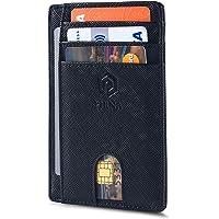 Slim Wallet for Men | RFID Blocking Minimalist Credit Card Holder