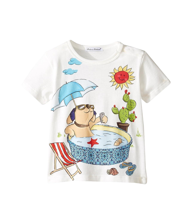 最愛 [ドルチェアンドガッバーナ] T-Shirt [並行輸入品] Dolce Kids & Gabbana Kids ボーイズ Mimmo Swimming Pool T-Shirt (Infant) トップス [並行輸入品] 6 - 9 Months ホワイト B06WP2NZ7N, 楓奏(ナチュラル雑貨かえでそう):e7303e82 --- a0267596.xsph.ru
