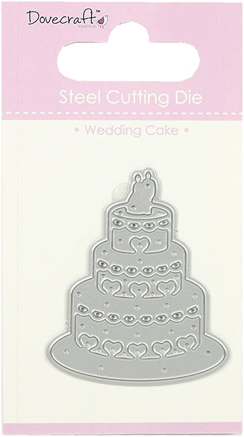 Dovecraft Steel Cutting Die Happy Birthday Cupcake 2 Die Set New