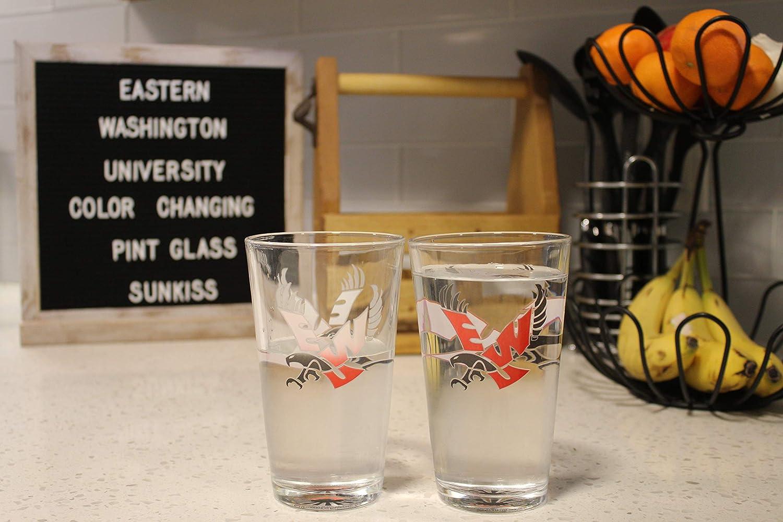 Eastern Washington University Eagles Color Changing Pint Glass