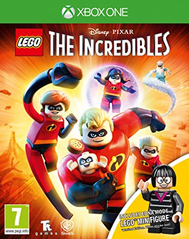 Lego The Incredibles Mini-Fig Edition Xbox One Game (Edna Mode ...