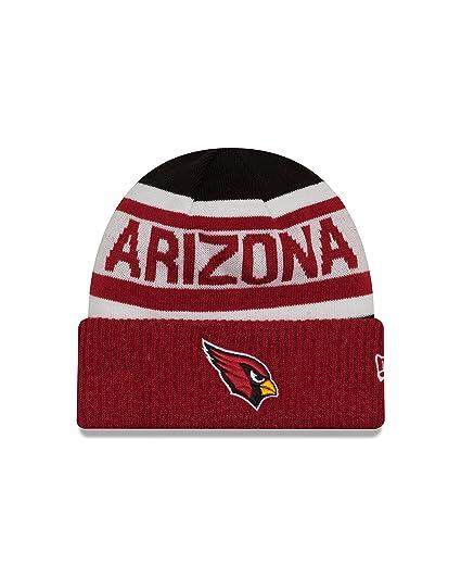 949fdcc3e16 Amazon.com   New Era NFL Arizona Cardinals Biggest Fan 2.0 Cuff Knit ...