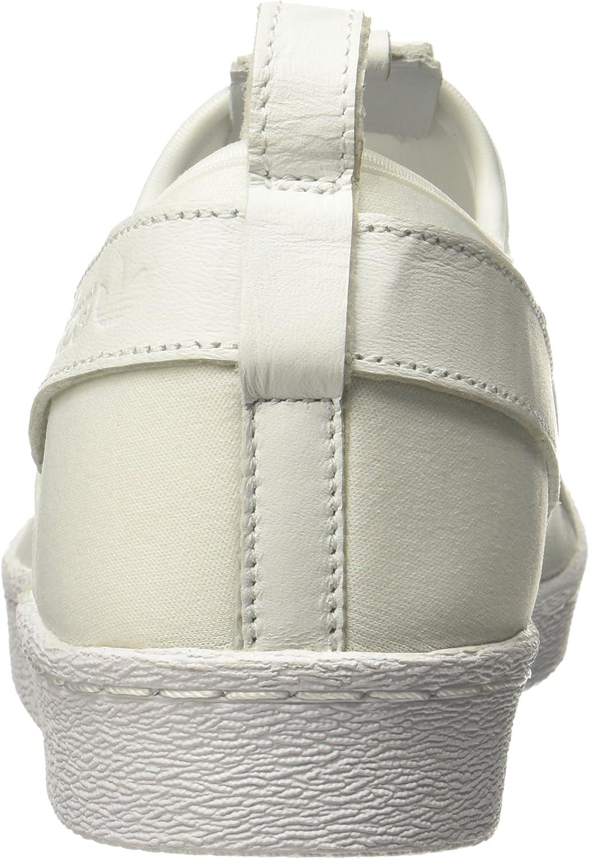 adidas Men's Superstar Slip on Bz0111 Trainers Off White Ftwr White Ftwr White Ftwr White
