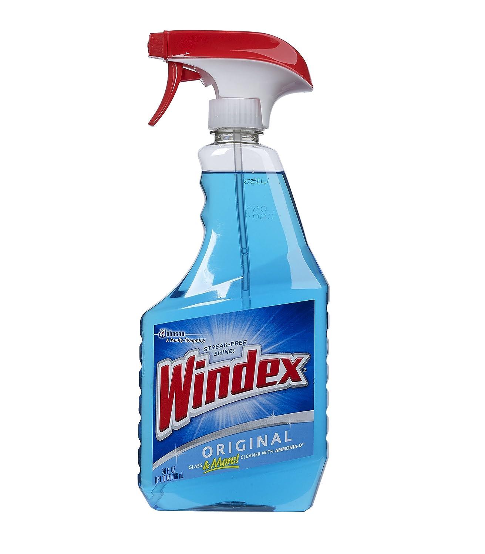 Johnson Wax 26 Oz Windex Original Glass Cleaner 20173 Pack Of 12 Co Uk Kitchen Home