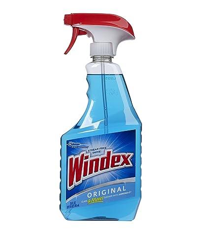 Windex Trigger Spray Blue Window Cleaner 26 Oz Amazoncom Grocery