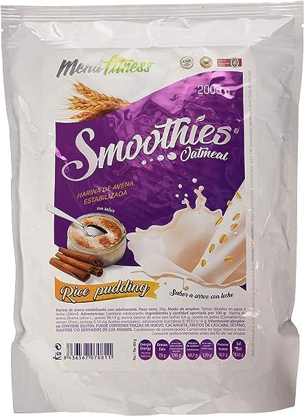 Menu Fitness Oat Smoothies - 2000 gr - Sabor: Arroz con leche ...