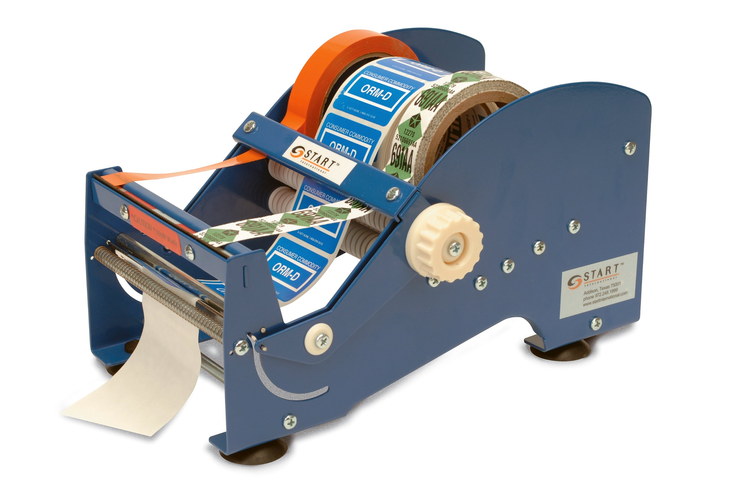 START International SL9506 6'' Wide Multi-Use Tape and Label Dispenser, Case of 4