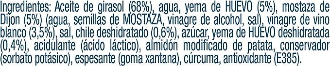 HELLMANNS PREMIUM MAYONESA CHILE 190ml - Pack de 6: Total de 1.14 ...