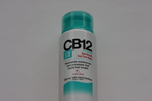 2 opinioni per CB12 250ML 2 PACK MILD MINT Safe Breath Oral Care Agent