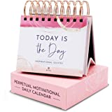 RYVE Motivational Calendar - Daily Flip Calendar with Inspirational Quotes - Motivational Gifts for Women, Inspirational Gift