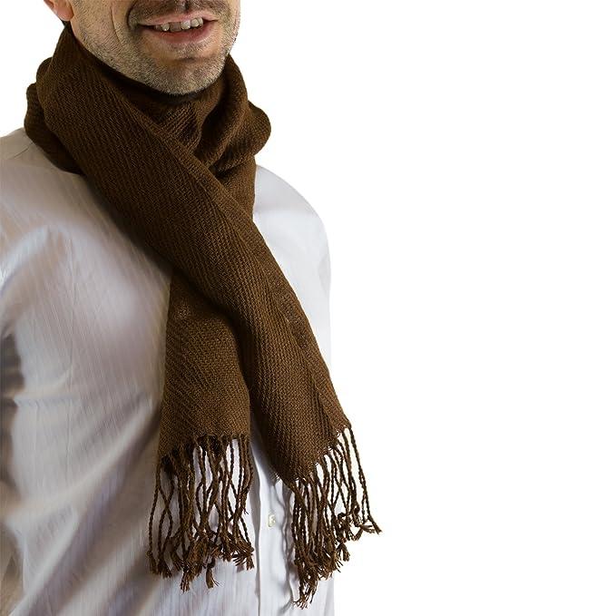 Bufanda de lana de alpaca - en una variedad de colores disponibles -  lujoso  Amazon.es  Ropa y accesorios 87a14b0727d