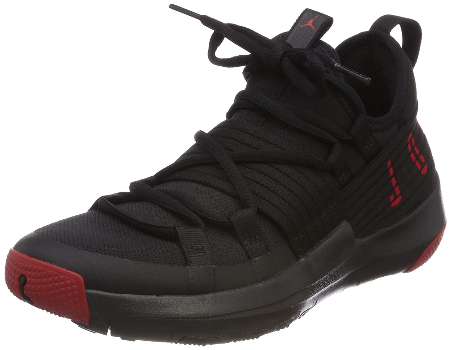 Jordan Trainer Pro Black/Gym Red-Gym Red (Big Kid)
