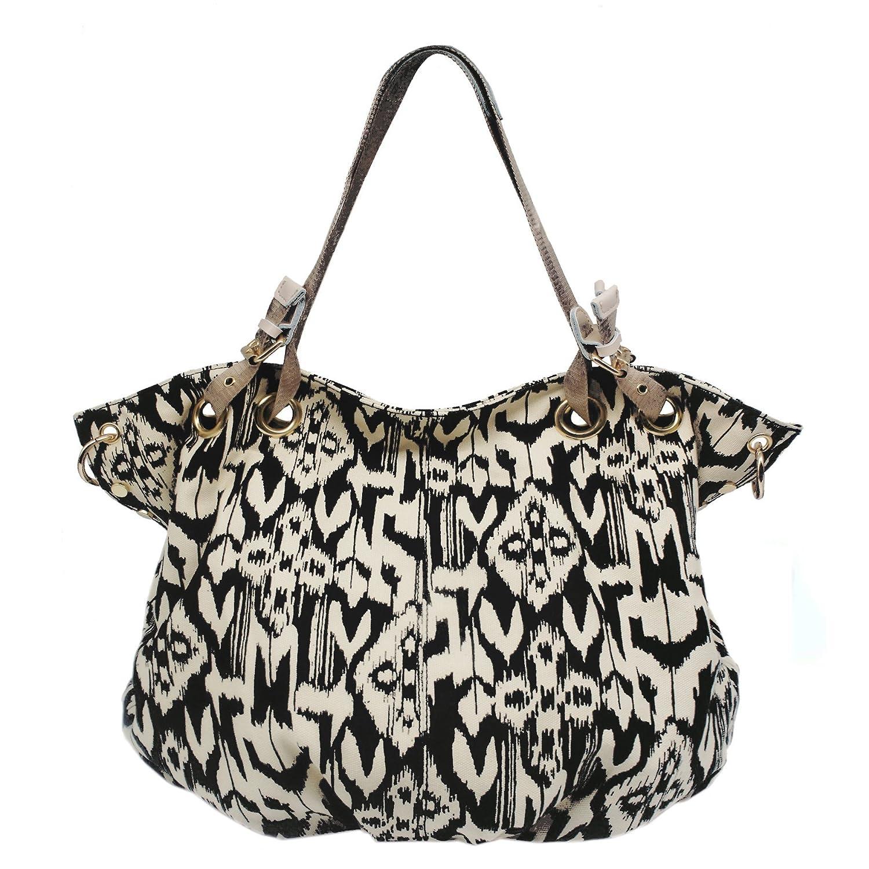 Kaylena Women's Water Resistant Canvas Shoulder Bag[2way]