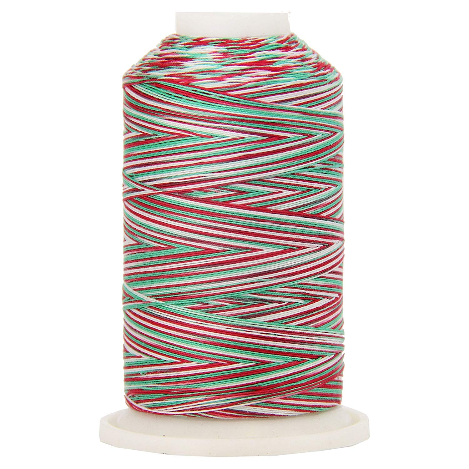 and Serging Color 2636 Wildflowers Sewing Threadart Variegated 100/% Cotton Thread 600M 22 Colors Available 40//3wt For Quilting