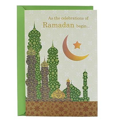 Amazon hallmark eid al fitr ramadan greeting card peace and hallmark eid al fitr ramadan greeting card peace and joy m4hsunfo