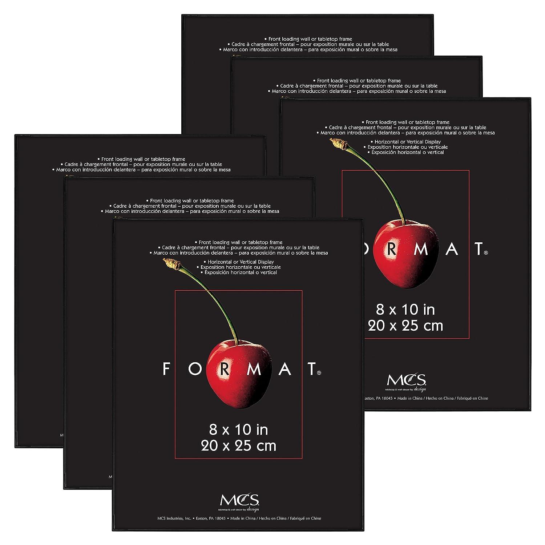Buy Mcs 8x10 Inch Format Frame 6 Pack Black 65608 Online At Low