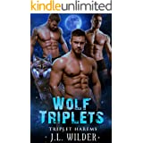 Wolf Triplets (Triplet Harems Book 3)