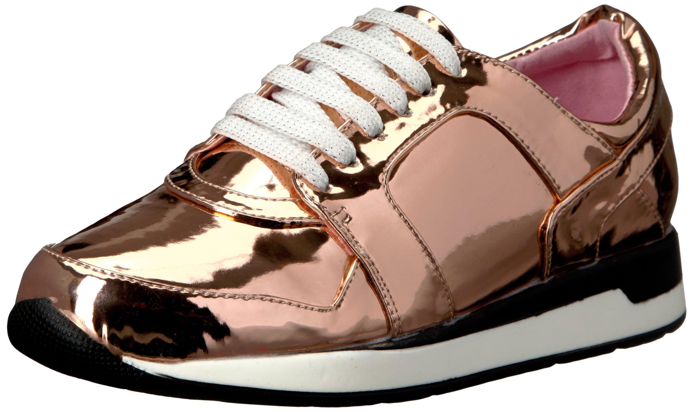 Penny Loves Kenny Women's Techno Fashion Sneaker, Rose Gold, 11 W US