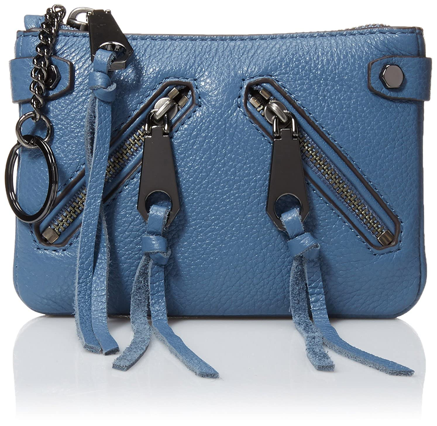 Rebecca Minkoff Moto Pouch Dusty Blue SF16GMOP26