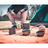 Overmont Portable 2-3 Person Outdoor Camping Pot