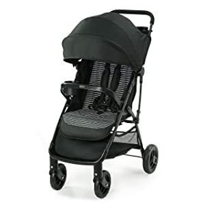 Graco NimbleLite Stroller | Lightweight Stroller, Under 15 Pounds, Car Seat Compatible, Compact Fold, Studio