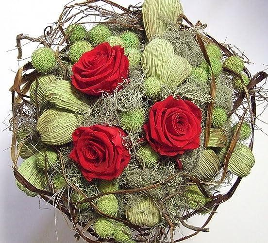 Blumenstrauss Red Roses Rosenstrauss Blumendekoration