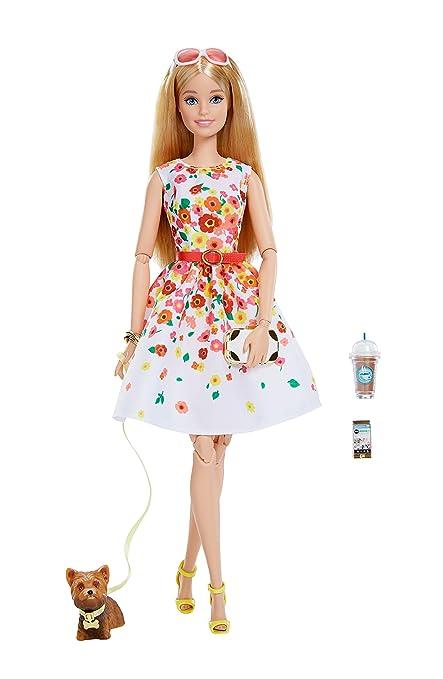 amazon co jp the barbie look barbie doll park pretty おもちゃ