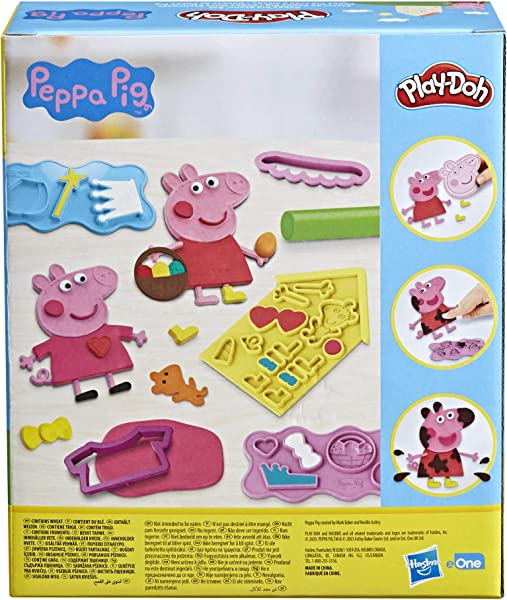 Play-Doh Peppa Pig Stylin' Set in package