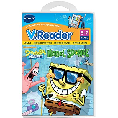 VTech V.Reader Cartridge - SpongeBob 80-281400: Toys & Games