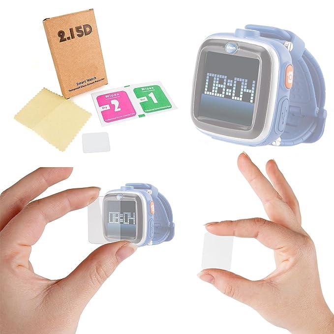 DURAGADGET Premium Kidizoom Smartwatch Screen Protector - HD Clear Tempered Glass, Anti-Shock Screen Protector for New Kidizoom Smartwatch