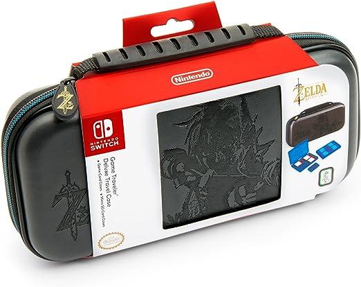 BigBen - NNS44 Bolsa De Transporte Con Asa Diseño Zelda Breath of The Wild, Color Negro (Nintendo Switch): Amazon.es: Videojuegos