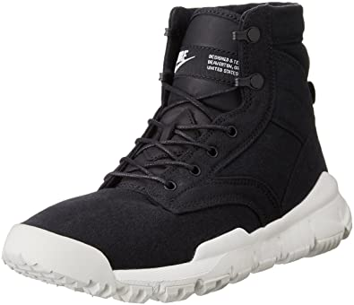 Nike Mens SFB Field 6 quot  ACG Canvas Boots Black Sail 844577-001 Size 71136e7d6