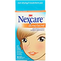 Nexcare Acne Absorbing Covers Two Sizes 36 Count value pack