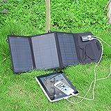 SUNKINGDOM™ 19.5W 2-Port USB Solar Charger with
