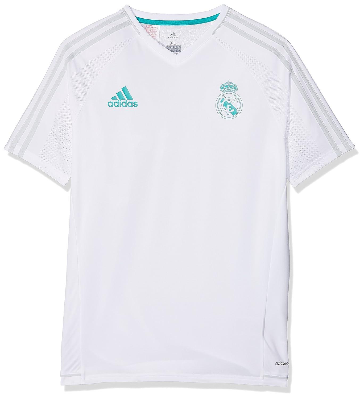2017-2018 Real Madrid Adidas Training Shirt (White) Kids B0721Y6TJGWhite Large Boys 30-32\