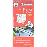 Carte France Sud-Ouest Michelin 2017