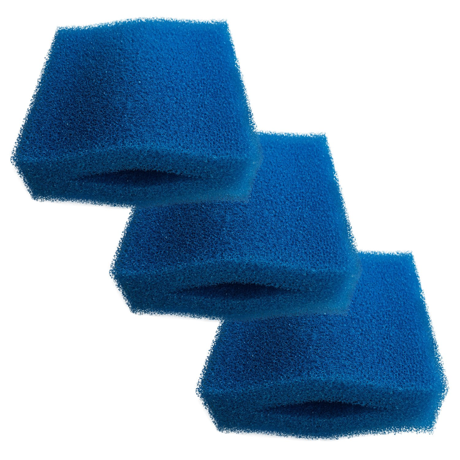 Finest-Filters 3 x Oase Biotec 5 10 30 Replacement bluee Coarse Pond Filter Foams