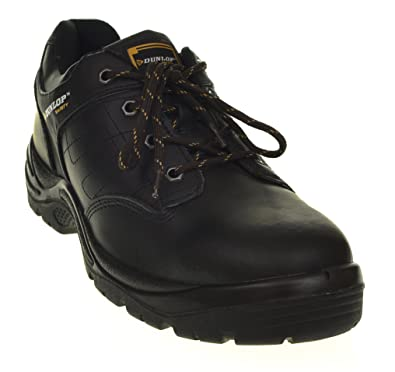 Mens Smart Black Work Trainers High Quality Safety Boots Shoes