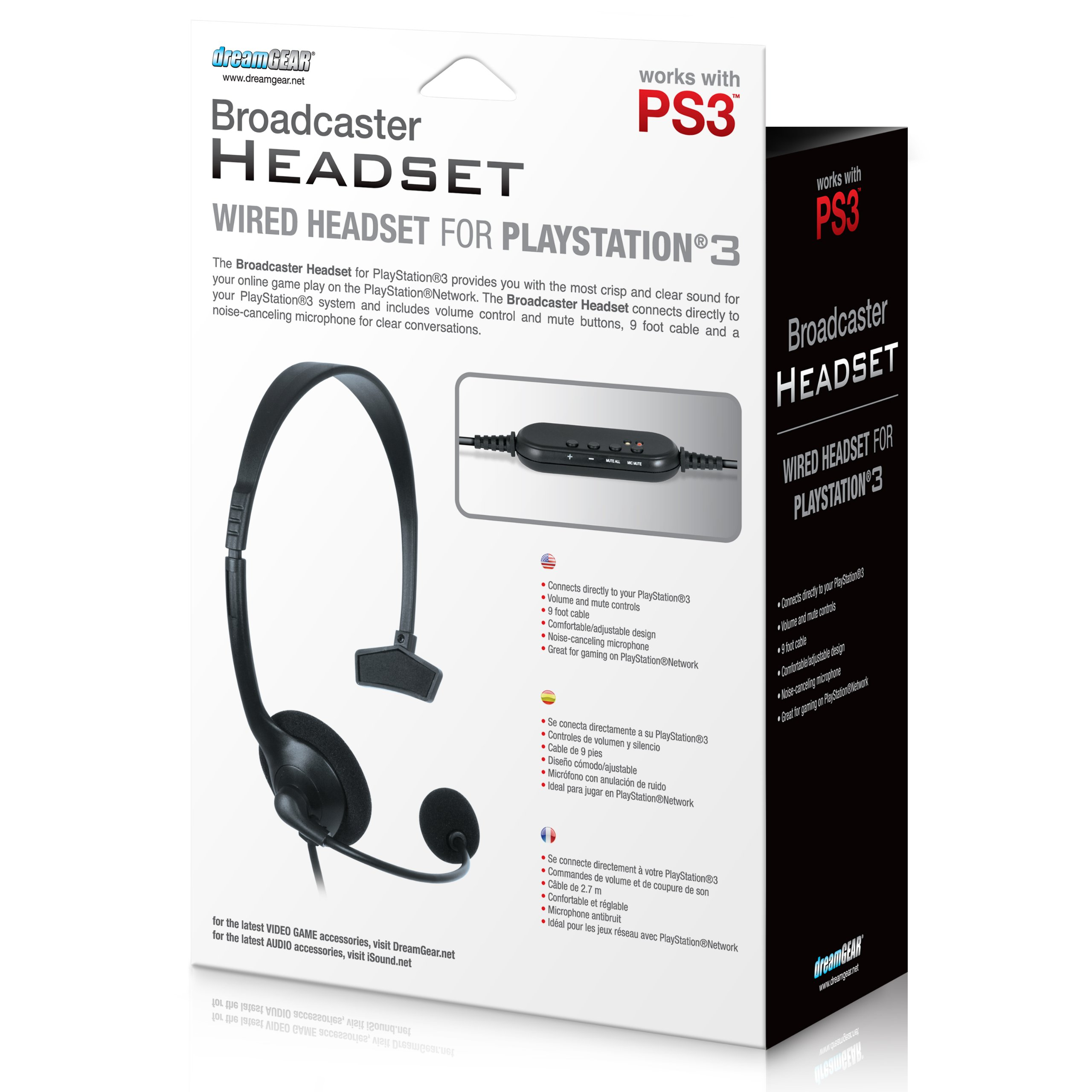 PlayStation 3 Broadcaster Headset by dreamGEAR