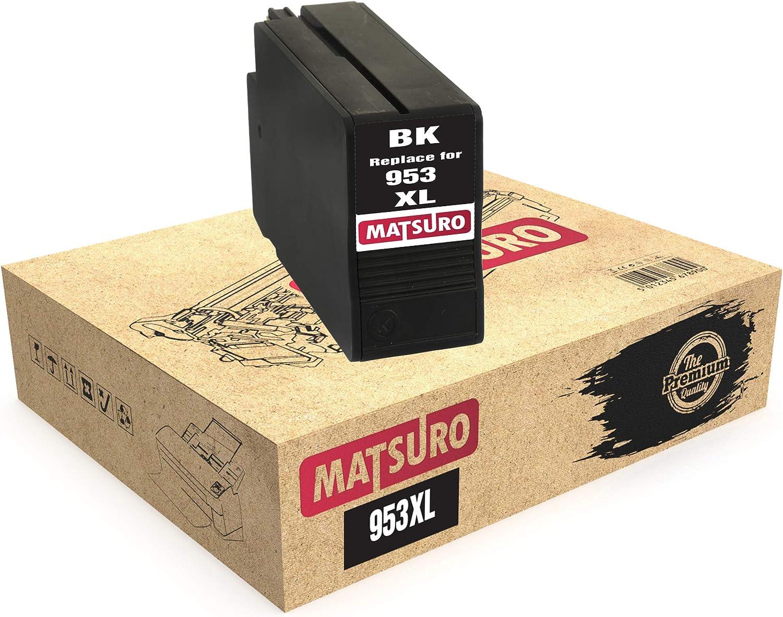Matsuro Original | Compatible Cartuchos de Tinta Reemplazo para HP ...