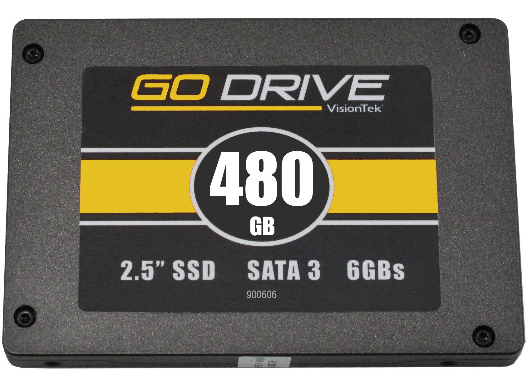 SSD : VisionTek 480GB 9.5mm SATA III Internal 2.5-Inch Solid