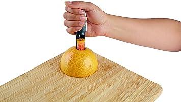 2pcs /Épais Lisse Pamplemousse en Acier Inoxydable Cuill/ère Dessert Cuill/ère Dentel/ée Fruits Couper Cuisine Gadget Outils De Cuisine