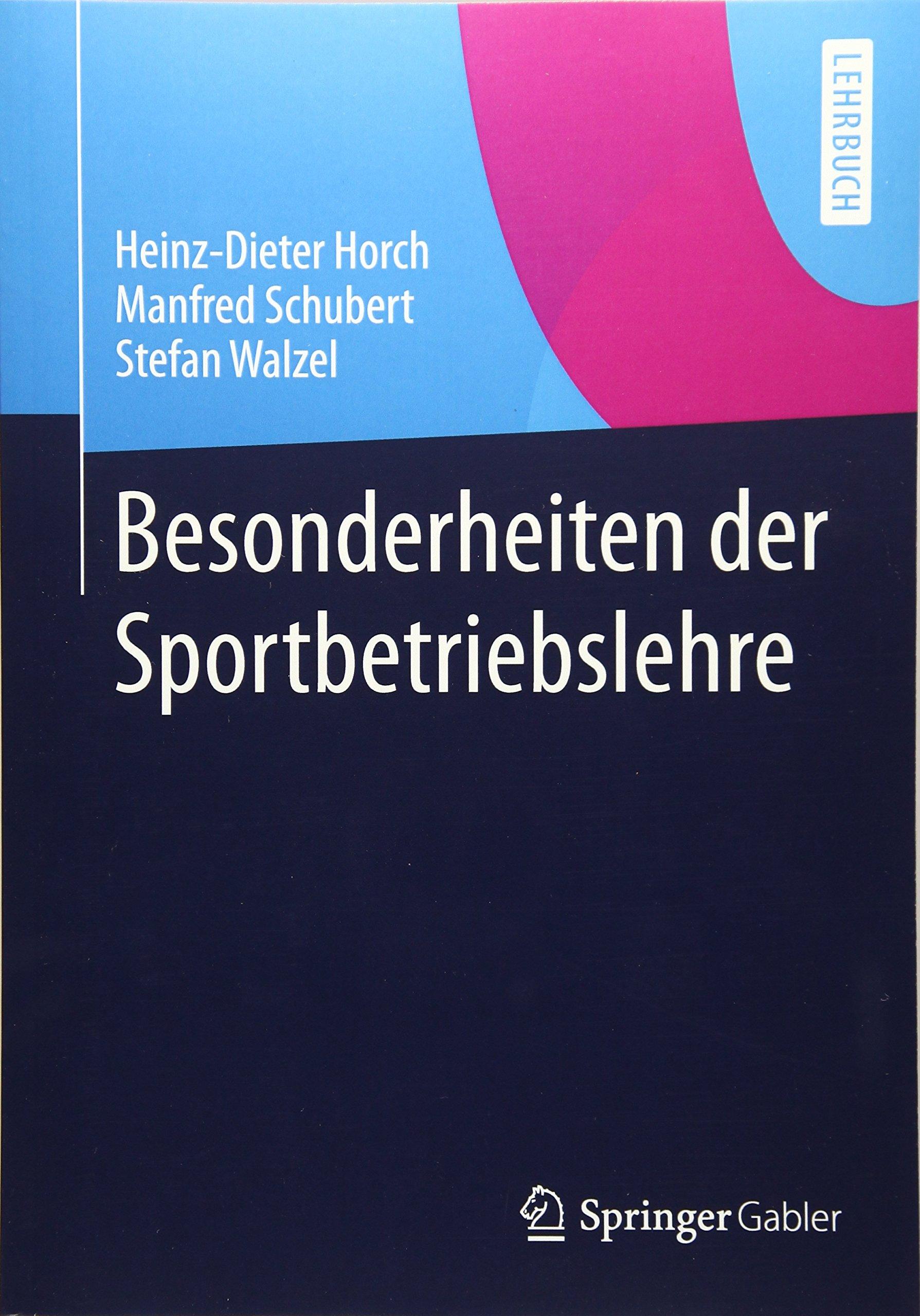 Besonderheiten der Sportbetriebslehre