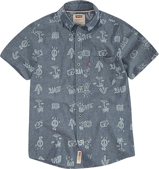 Levis - Camiseta de manga corta para niño: Amazon.es: Ropa y accesorios