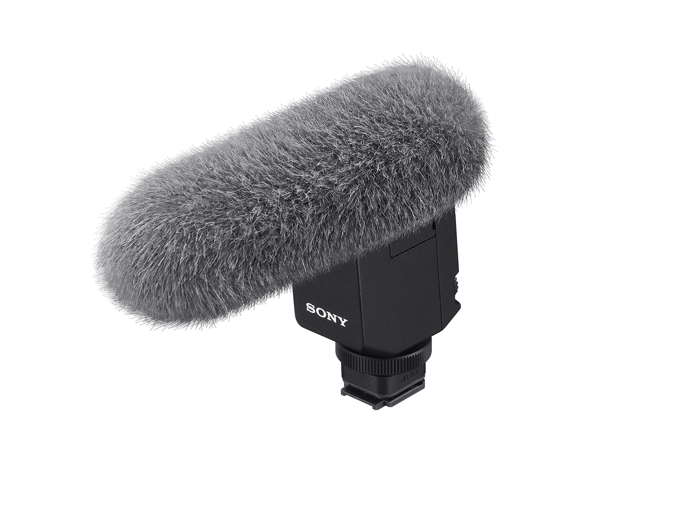 Sony ECM-B1M Compact Shotgun Microphone with Digital Audio Interface by Sony
