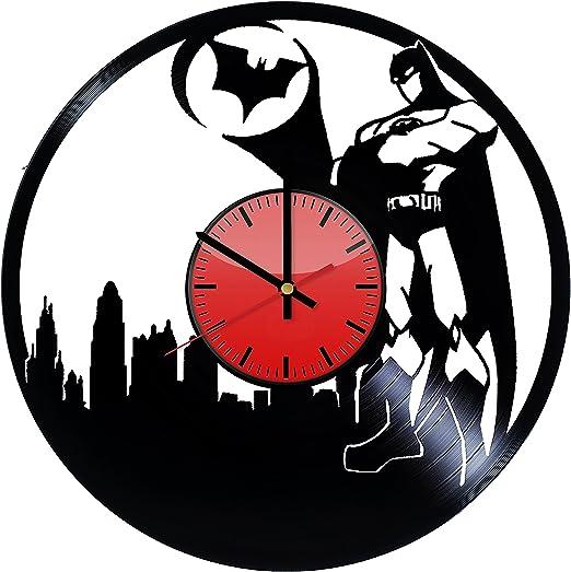 Wall Clock Batman Silhouette